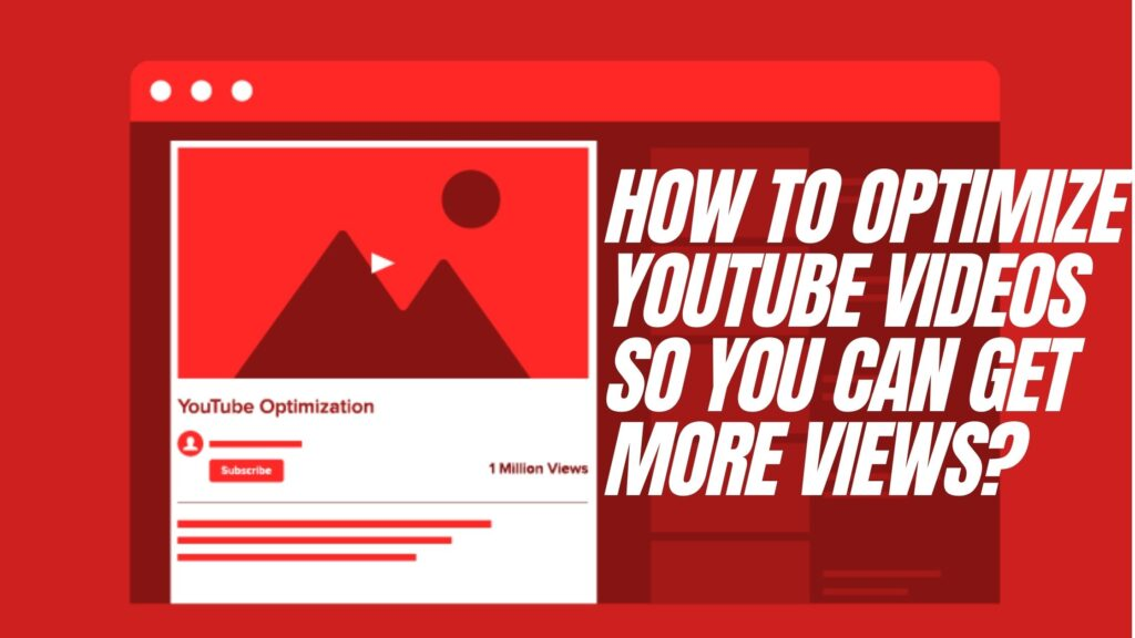 Optimize YouTube Videos